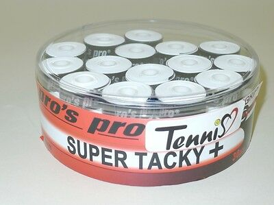 Pro's Pro Super Tacky Plus Overgrip weiß 30er pros pro super tacky Griffbänder