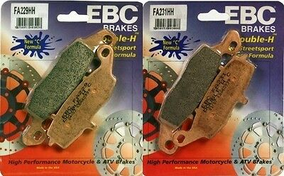 EBC HH Front  Brake Pads 98-06 Suzuki GSX750F Katana Left & Right FA229+FA231 HH
