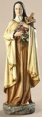 """SALE! 10"""" Saint Therese the Lisieux Statue Figurine St Therese The Little Flower"""