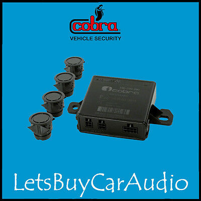 Cobra R294 4 Sensor Reverse Parking Kit With Acoustic Buzzer (0258 Replacement)