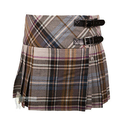 Girls' Wool 'billie' Mini Kilt -  La Check - Range Of Sizes!
