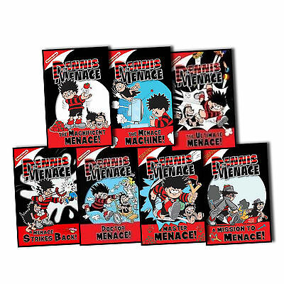 Rachel Elliot Dennis the Menace Books 7 Books Children Collection Pack New