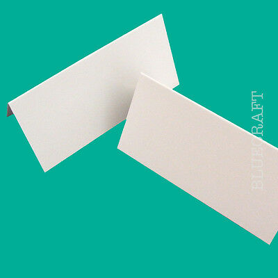 100 x Premium Large White Blank Place Name Cards 300gsm - Events & Conferences