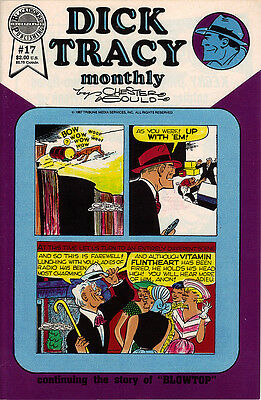 Dick Tracy Monthly #17  comic  1987