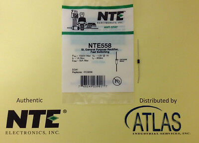 NTE NTE558, Si, General Purpose Rectifier, Fast Switching