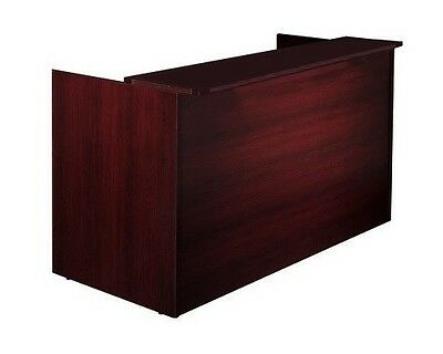 New Amber Office Reception Desk Shell for Receptionist Area Room