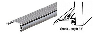"Aluminum Bumper Stop Threshold 1-1/2"" Wide"