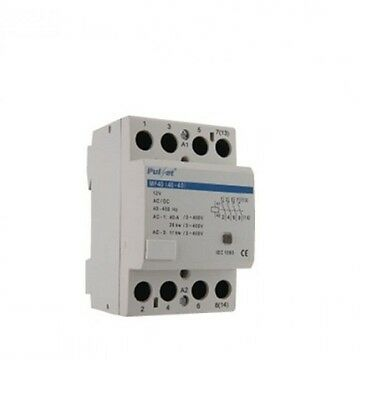 Electric Cable 4 Pole Contactor 240 Volt 63Amp Relay Electrical Wholesale Price