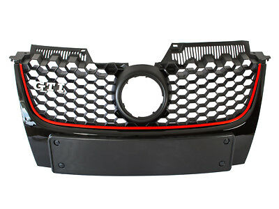 Vw Golf 5 V Mk5 Gti 03-09 Front Grill Grille New  - (Chrome Gti)