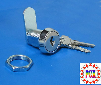 """Cabinet Lock/Coin Door Lock, 7/8"""" Double Bitted - Bally, Gottlieb, Williams more"""