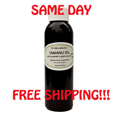 ORGANIC TAMANU / FORAHA OIL 100% PURE FRESH COLD PRESSED 0.6 OZ 1.1 OZ 2.2 OZ-64