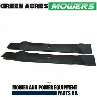 "42"" Mulching Blades For John Deere 7 Point Star Hole Gx22151 Hardened Steel"