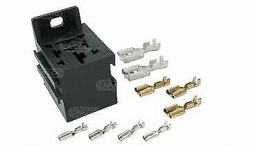 RELAY FLASHER MULTI PLUG HOLDER SOCKET BASE KIT 4 5 6 7 8 9 pin CARGO 192160