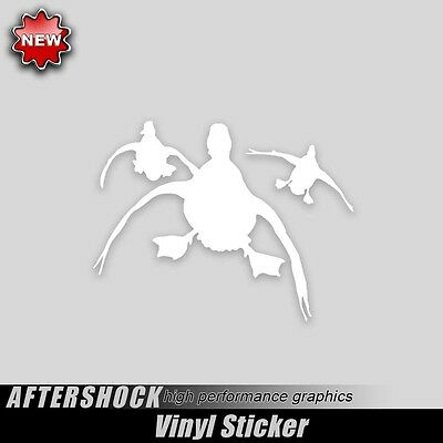 Duck hunting sticker approach decal