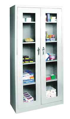 Dental Medical Supply Storage Cabinet W/Steel Structure Locking Doors