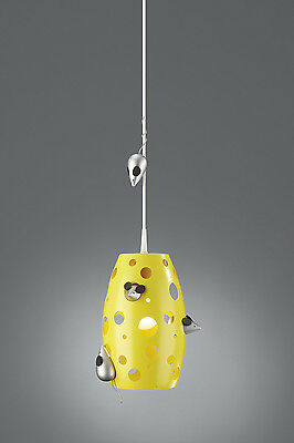 Childrens Ceiling Light - Kico Cheezzz Pendant Novelty Ceiling Light 40281/34/10