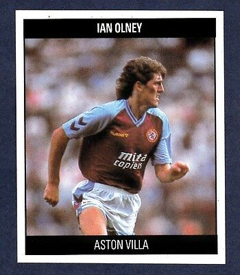 PANINI FOOTBALL 92-#019-ASTON VILLA-IAN OLNEY