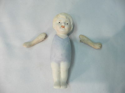 Vintage Nippon Bisque Doll.....complete with arms