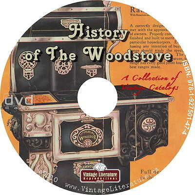 History of the Wood Stove {Antique Catalogs ~ Parts Lists ~ Price Guides} on DVD