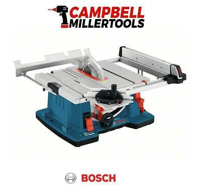 """Bosch GTS10XC 10"""" Table Saw with Sliding Carriage 110V 0601B30460"""
