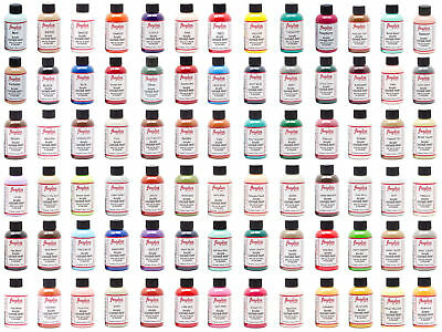 Angelus Brand Acrylic Leather Paint Waterproof 4oz- 8 Colors Available