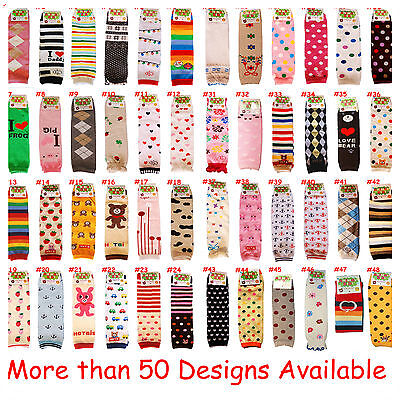 3 X Stylish Baby Toddler Boy Girls Leg/Arm Warmer Protector Socks Legging