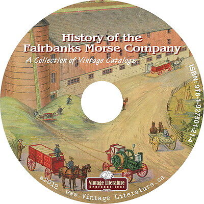 History of Fairbanks Morse Co {Antique Tractor Farm Equipment Catalogs} on DVD