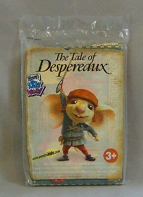 THE TALE OF DESPEREAUX 3-D PUZZLE 11 PIECE NIP WENDYS KID MEAL TOY
