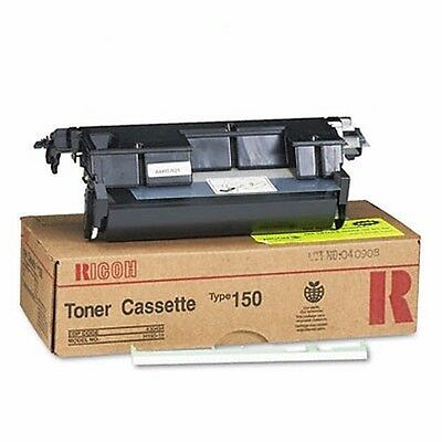 Genuine Ricoh Type 150 FAX Black Original Toner Cassette - 4500 Page Yield