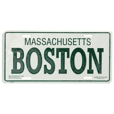 Boston License Plate Souvenir from Online Gift Store