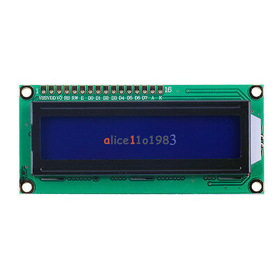2PCS 1602 16x2 Character LCD Display Module HD44780 Controller blue Arduino LCD