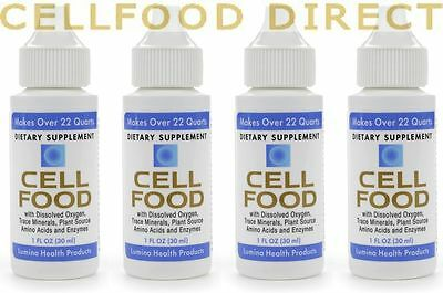£17.40 each 4-PACK CELLFOOD CONCENTRATE