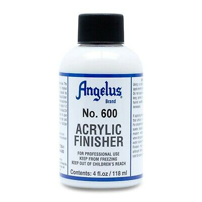 Angelus Brand Acrylic Leather Paint Finisher No. 600 4oz