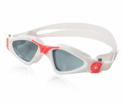 KAYENNE LADY PINK Accent SMOKE Lens Womens Goggles Aqua Sphere Mask Triathlon
