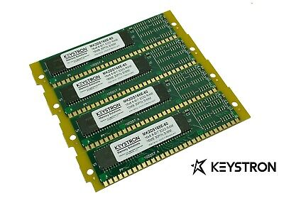 64MB MEMORY RAM KIT 4 Kurzweil K2500 K2000 K2vx 4x16MB w/ gold fingers/contacts