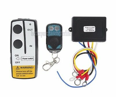Wireless Winch Remote Control Handset, 9-30VDC, for Truck Jeep ATV SUV Winch