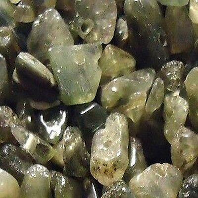 50g 4-7mm Moss Agate Stone Chip Beads - K4850