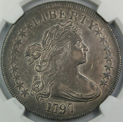 1797 Draped Bust Silver Dollar $1 NGC XF-45 High End Example