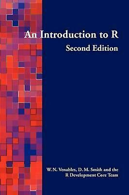 An Introduction to R by William N. Venables (English) Paperback Book Free Shippi