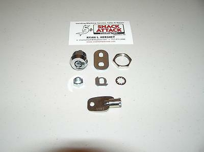 VENDSTAR 3000 #0160 BACK DOOR LOCK & KEY - New / Free Ship!