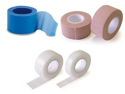 Clear Silk Fabric Blue Detectable Zinc Oxide Microporous Elastic Tape First Aid