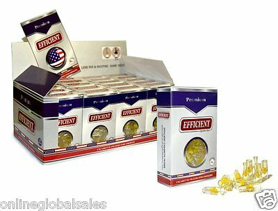 80 Packs EFFICIENT Cigarette Filters 2400 Filters Block & Filter Out Tar & Nic