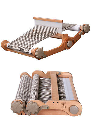 KNITTERS WEAVING LOOM  30cm Rigid Heddle Loom by Ashford  folding  very portable
