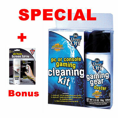 Falcon DUST-OFF Gaming Gear Cleaning Kit Notebook Laptop PC Keyboard Cleaner Kit