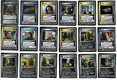 Star Trek CCG The Borg Rare Cards Part 2/3