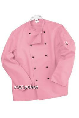 Technicolour Chefs Jackets All Sizes & 10 Colours Available XS S M L XL 2XL