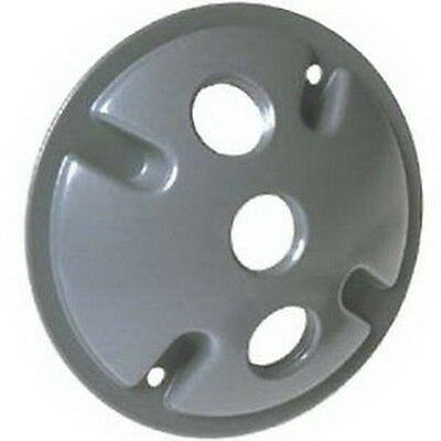 NEW Bell Outdoor #5197-5 Grey WP Round Lamp Cover