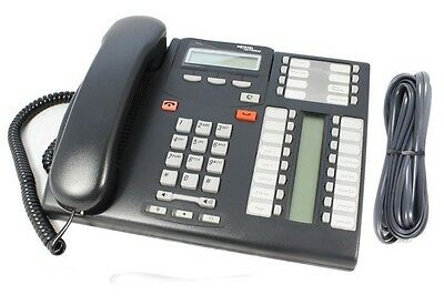 Nortel Commander T7316E Charcoal Phone NT8B27JAABE6 T7316 Inc GST & Delivery Inc