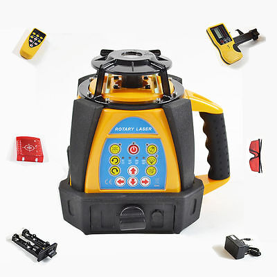 Self-Leveling Rotary/ Rotating Laser Level 500M Range 5