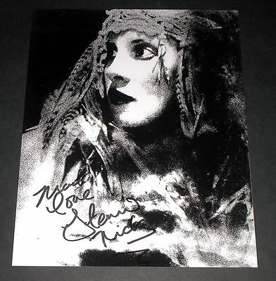 "Stevie Nicks Pp Signed 10""x8"" Photo Repro Fleetwood Mac"